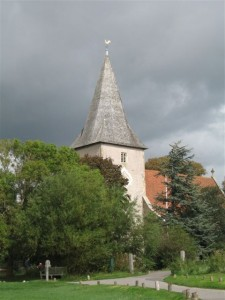A view of Bosham church tower