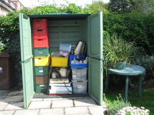 Storage unit for my dyeing equipment etc