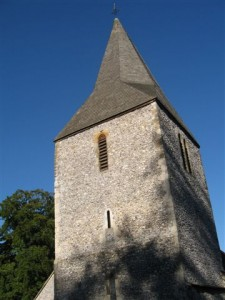 Findon Church tower